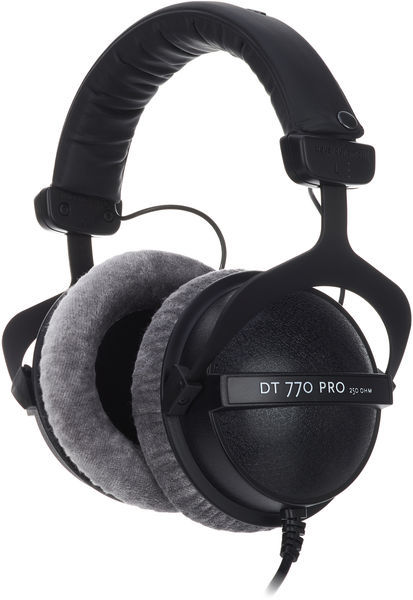 Homestudio einrichten Studio Kopfhörer Bayerdinamy DT 770 Pro 250 Ohm