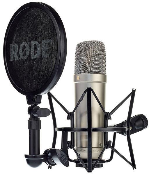 Homestudio einrichten Gesang aufnehmen Großmembran kondensatormikrofon nt1a