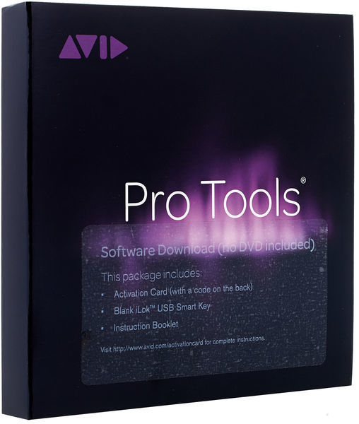 Protools avid Equipment home studio software