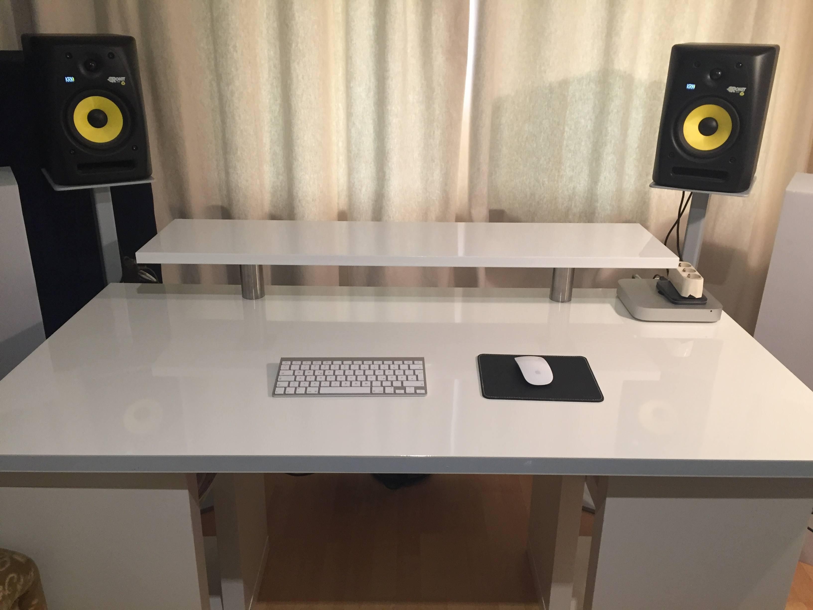 Ikea, Tonstudio Tisch, DIY,