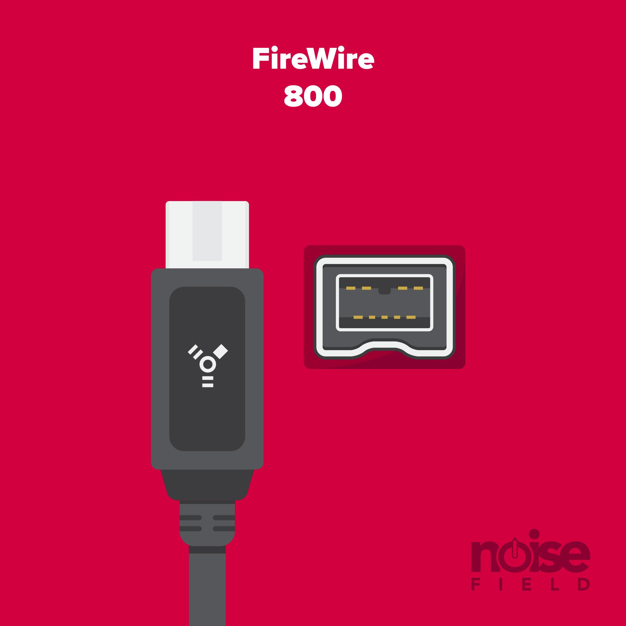 Firewire 800 Illustration Vector Audio Interface