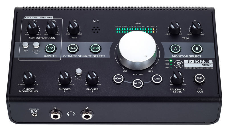 Audio Interface Monitor Controller studio