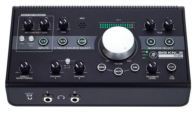 Audio Interface Monitor Controller studio