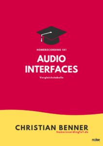 Audio Interface vergleich Test Tabelle