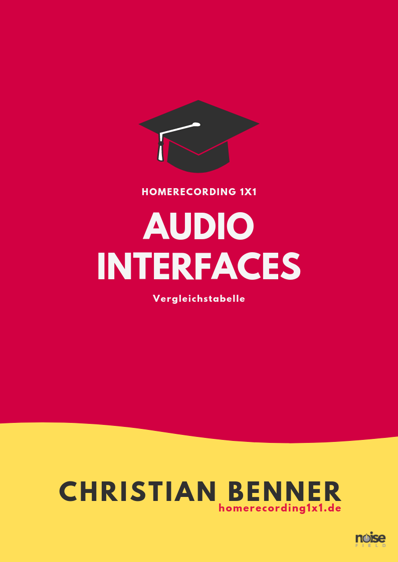 Audio Interface vergleich Test Tabelle