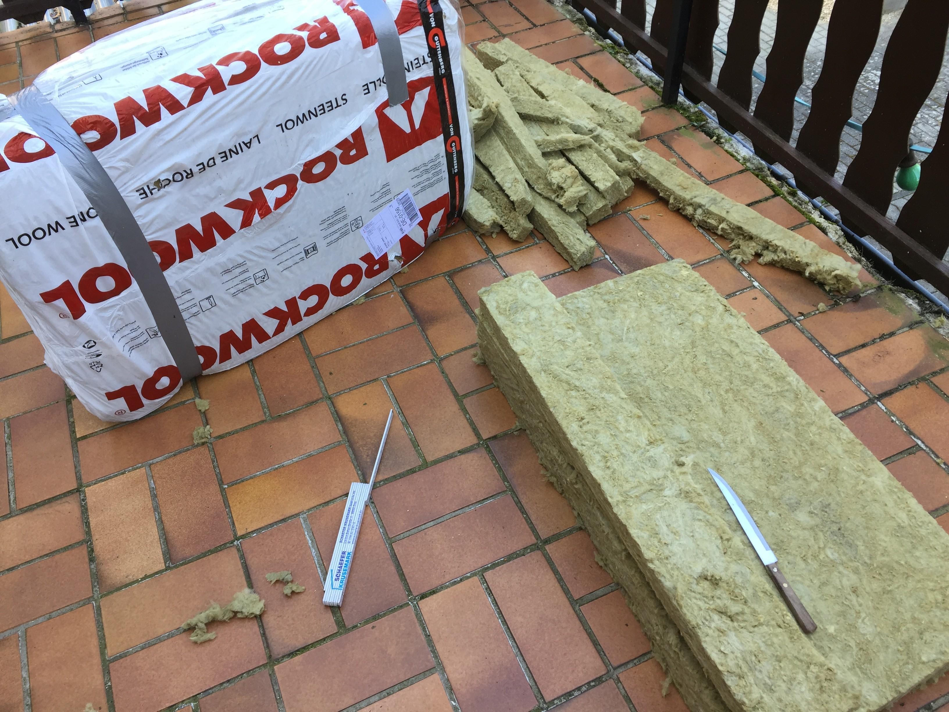 Basstrap bauen laufen rockcool Steinwolle Eckabsorber