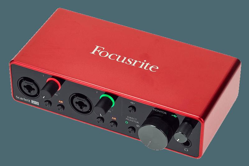 Audio Interface kaufen Test vergleich Preis kosten