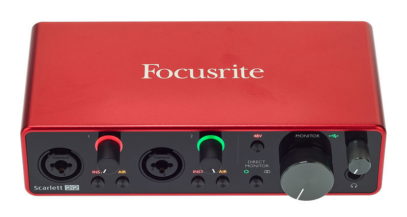Audiointerface kaufen Test Focusrite