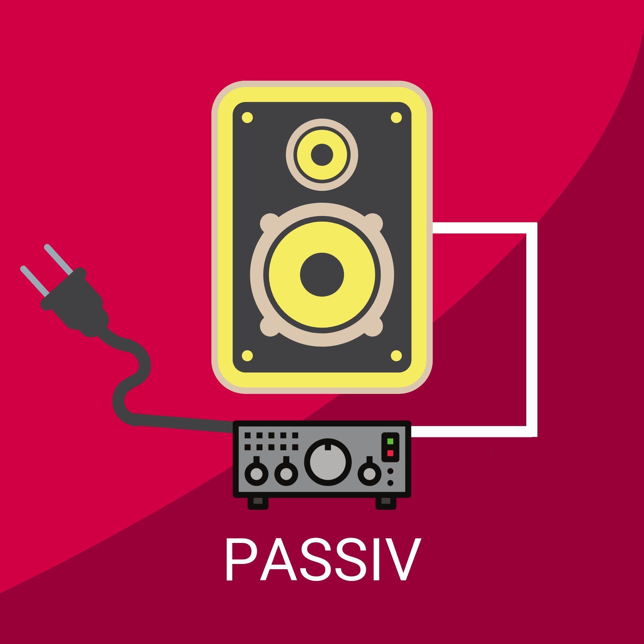 Passive Monitorboxen Studiomonitore