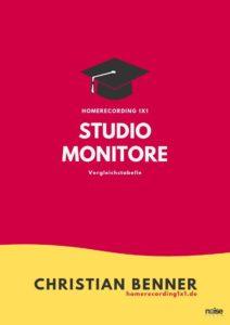 Studiomonitore Studiolautsprecher Test Vergleichstabelle