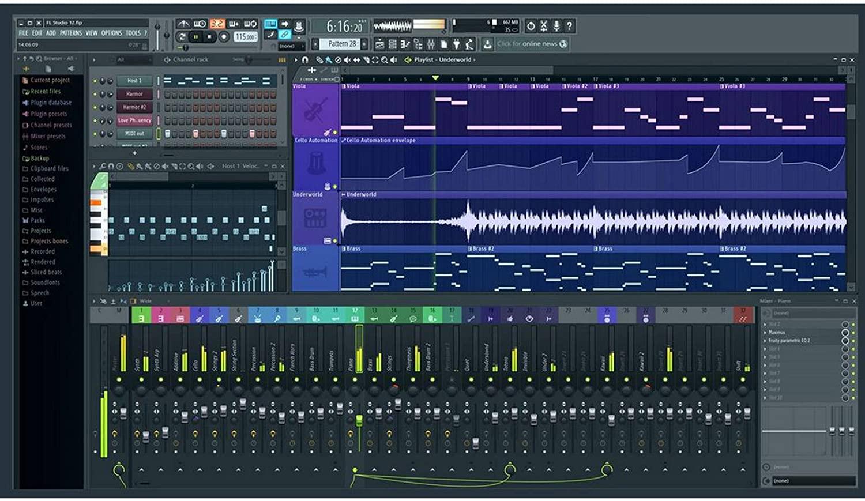 FL Studio Digital Audio Workstation DAW